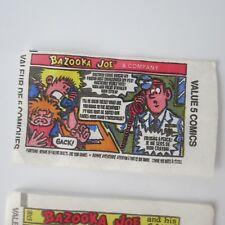 49 Differents Bazooka Joe Comics