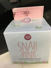 Snail Pink Cathy Doll Pore Reducing Serum  Oily Skin 50 g Fast shipping by DH L