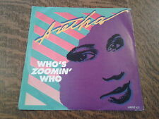45 tours aretha franklin who's zoomin' who