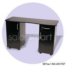 Nail Table Manicure Station Black Salon Equipment
