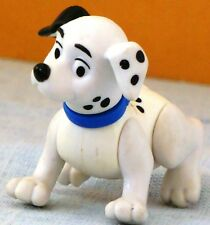 1996 McD 101 Dalmatian TOY Ornament #73 DOS with BLUE Collar 1 BLACK EAR