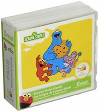 CRICUT CARTRIDGE SESAME STREET FRIENDS - BRAND NEW; SEALED EXPEDITED SHIP