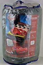 "Disney Cars throw blanket micro raschel plush Twin 60"" x 80"" McQueen Lightning"