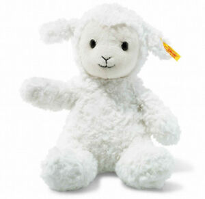Soft Cuddly Friends Fuzzy Lamb Medium with FREE gift Box by Steiff EAN 073410