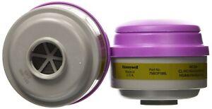 North  75SCP1OOL Defender Combination Gas/Vapor Cartridge W/P1OO Filter, 1 Pair