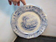 antique transfer plate charger