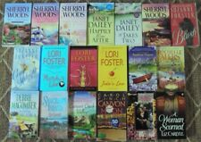 Mix Lot of 19 Romance P/B Books, Dailey, Woods, Macomber, Foster, etc. L@@K
