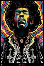 Jimi Hendrix Iron On Transfer For T-Shirt & Other Light Color Fabrics #5