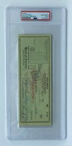 Lucille Ball Signed 1954 Check I LOVE LUCY PSA/DNA Autographed Pool Service