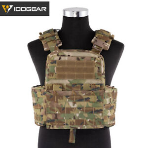 IDOGEAR Tactical Vest Cherry Plate Carrier CPC Molle Military Genuine Paintball