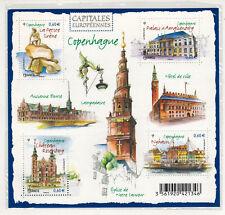 2012-BLOC-FEUILLET FRANCE NEUF**CAPITALES EUROPEENNES-COPENHAGUE-TIMBRE - F 4637