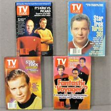 Lot 4 Tv Guide Star Trek 1991 1995 1996 2002 minneapolis editions