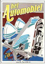 1986 HET AUTOMOBIEL MAGAZIN 70 VOLVO KATTERUG BRISTOL STORY BMC NIEDERLANDISCH