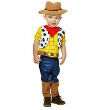 More details for child disney toy story woody with hat boys costume