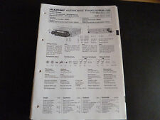 Original Service Manual Blaupunkt Autoradio Frankfurt CR ST/ US