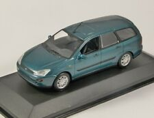 2002 FORD FOCUS Mk1 ESTATE in Green 1/43 scale dealer edition model Minichamps