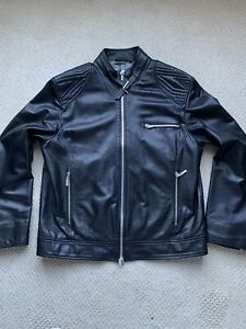 GIANNI VERSACE COLLECTION MEN'S LEATHER JACKET - LAMBSKIN