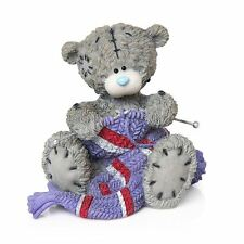 Me to You Winter Warmers Figurine Christmas Knitting Tatty Teddy Bear
