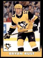 2020-21 UD O-Pee-Chee Retro Black Border 410 Bryan Rust /100 Pittsburgh Penguins