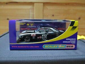 "Scalextric Slot Car C 2654 Chevrolet Camaro 1969 Vince Gimondo ""No40"" ""NEW"""