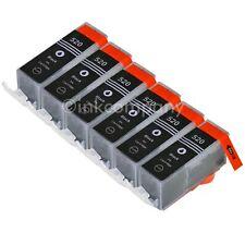 6 CANON Druckerpatronen mit Chip PGI-520 bk black IP 3600 IP 4600 IP 4700 NEU