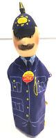 Vintage Steiff Police Man Hand Puppet