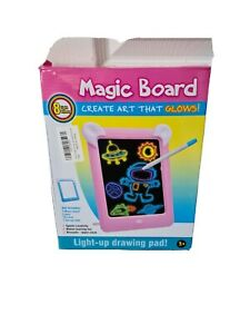 PHYLES Magic Drawing Board, Portable Glow Board, Draw With Light Toys for Draw,