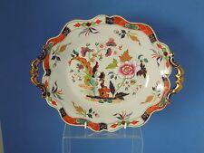 John RIDGWAY OVALE dessert piatto intorno al 1830 modello 5055 IMPERIAL STONEWARE China