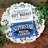 DecoWords Gift Magnet * SUPERSTAR  POSTAL CARRIER MAGNET Post Office Mail Post