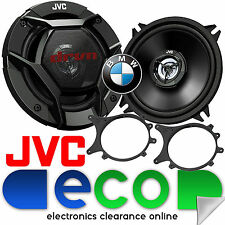 BMW 3 Series Compact E36 JVC 13cm 520W 2 Way Rear Side Car Speakers & Brackets