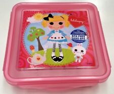 LALALOOPSY 600ML KIDS SANDWICH SNAP LUNCH BOX CONTAINER ZAK DESIGNS