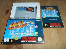 Space Invaders OVP/CIB AUStralian only SNES Super Nintendo