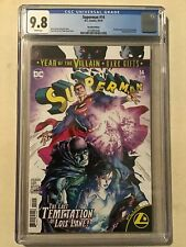 SUPERMAN #14 CGC 9.8 RECALLED VARIANT COVER 1ST GOLD LANTERN APPEARANCE