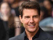 TOM CRUISE SIGNED PHOTO Mission Impossible 6 FALLOUT AUTOGRAPH CANDID *LOOK*