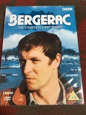 BERGERAC COMPLETE FIRST SERIES GENUINE REGION 2 UK DVD NEW FACTORY SEALED