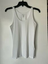 MAJESTIC FILATURES PARIS - Size 3 (M) - White Cashmere Blend Tank Top