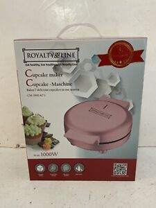 Royalty Line electric cupcake maker 1000w New Boxed