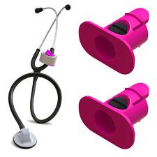 2 Pack of HOTPINK  Stethoscope Tape Holders - Littman, Nursing, Scrubs, EMS, EMT