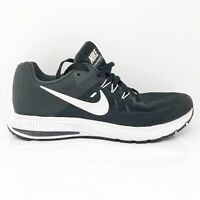 Nike Womens Zoom Winflo 2 807279-001 Black Running Shoes Lace Up Low Top Size 9