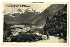 CPA 73 Savoie Col de la Madeleine animé