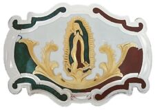 VIRGIN MARY METAL BELT BUCKLE COWBOY WESTERN HEBILLA CHARRO VIRGEN GUADALUPE 3