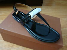 NIB NEW Women COACH CATERINE SANDAL Black Size 10