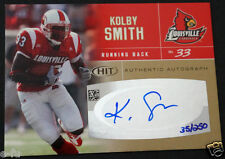 2007 Sage Hit Gold KOLBY SMITH Louisville Cardinals Certified Auto #ed 35/250