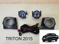 Mitsubishi NEW Triton L200 Fog Lamp Spot light SET Smoke 2015-2018 Pickup