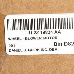 Genuine Ford HVAC Blower Motor Wheel 1L2Z-19834-AA