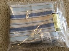 Longaberger Sort & Store Small Waste Basket Liner - Cabana Blue Stripe (New)