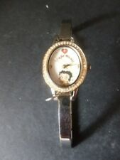 The Bradford Exchange 'Time for Mischief' - Betty Boop Watch - With Gold Plating