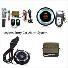 8pcs Vehicle Alarm System Keyless Entry Push Button Ignition Remote Engine Start
