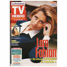 Lara Fabian  EUROVISION - TV Hebdo la provence Magazine NEUF sous plastique !