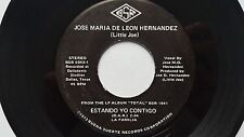 LITTLE JOE & LA FAMILIA - Estando Yo Contigo / Chupale LATIN Tejano Tex-Mex Rock